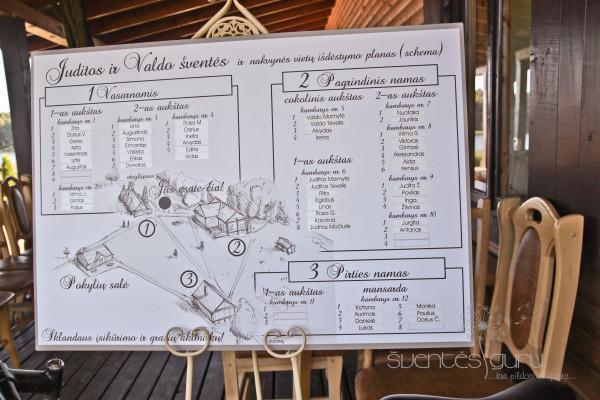 Sumigdymo planas vestuvėse
