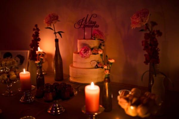 Vestuvės pavasario tema